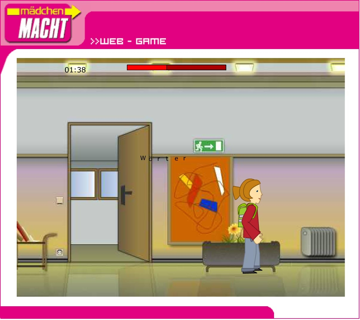 Mädchen macht! | maedchenmacht.at | 2002 | Game (Screen Only 06) © echonet communication