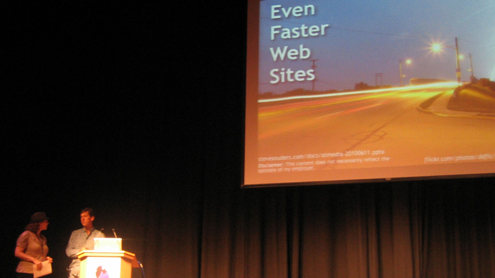 @media 2010 - Web-Konferenz in London: Even Faster Websites © echonet communication