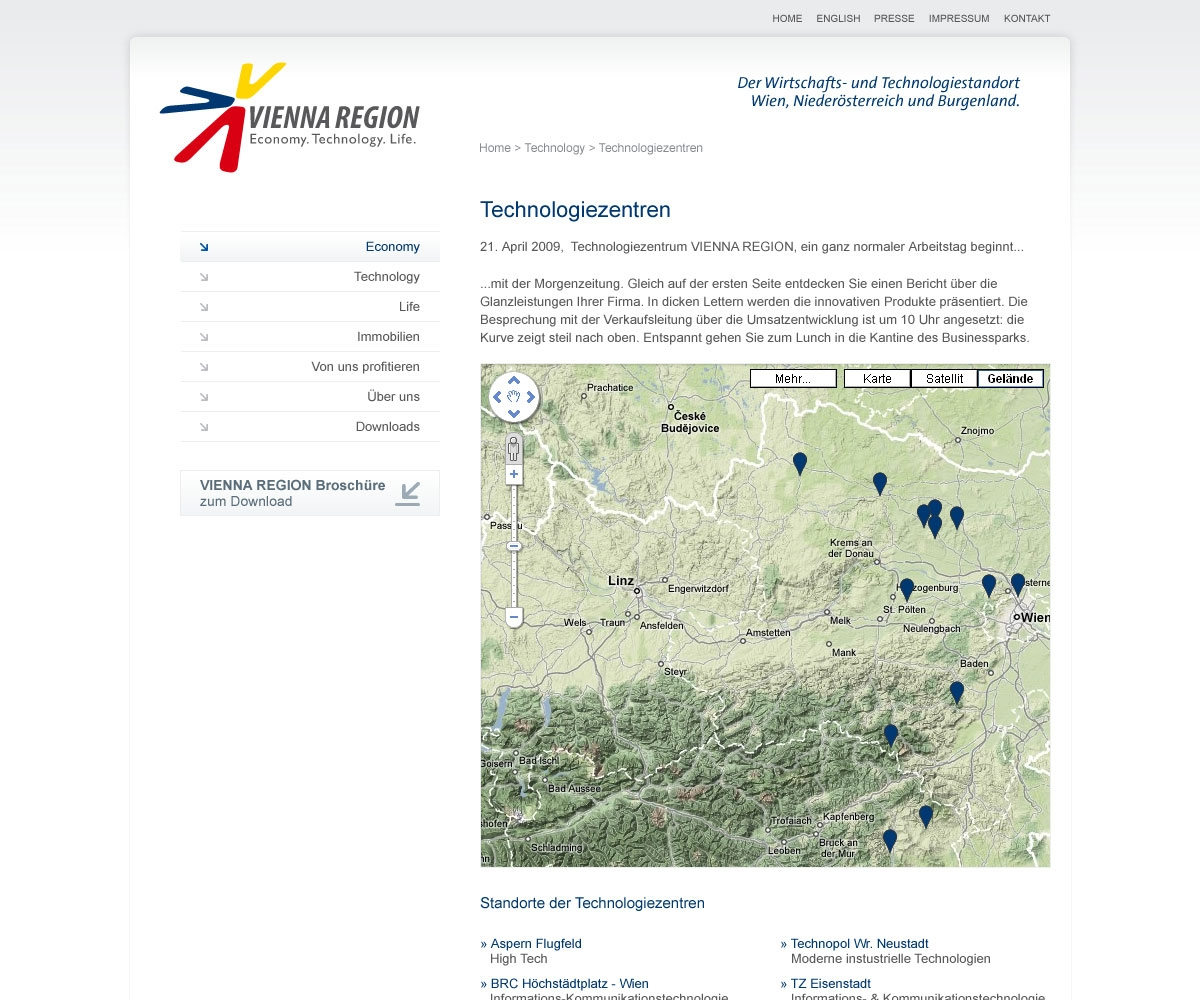 Vienna Region Marketing | viennaregion.at | 2009 (Screen Only 08) © echonet communication